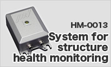 System for structure health monitoring