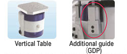vertical auxiliary table