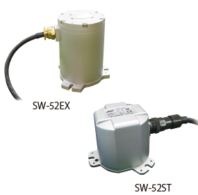 Flame-proof / dust-ignition-proof Seismic monitoring system (SW-52EX / SW-52ST)